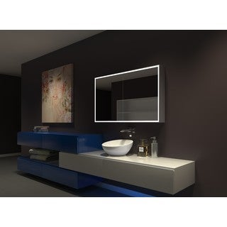 IB MIRROR DIMMABLE Lighted Bathroom CABINET Galaxy 48 In X 28 In X 5 1/4 In 3000 K