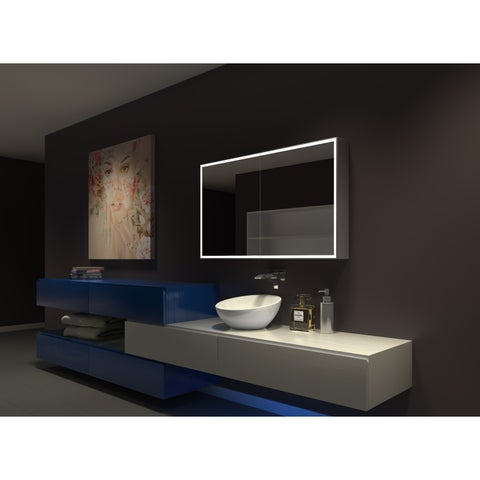 IB MIRROR DIMMABLE Lighted Bathroom CABINET Galaxy 48 In X 28 In X 5 1/4 In 6000 K