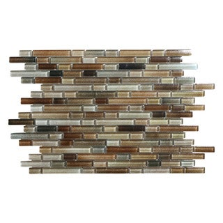 Hi-Fi Offset Linear Glass Mosaic Tile (5 sheets per case)