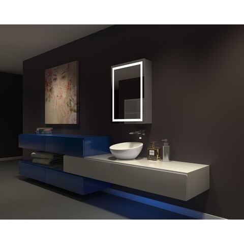 IB MIRROR DIMMABLE Lighted Bathroom CABINET Harmony 24 In X 32 In X 5 1/4 3000 K