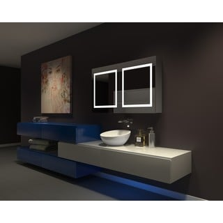 IB MIRROR DIMMABLE Lighted Bathroom CABINET Harmony 48 In X 28 In X 5 1/4 In 6000 K