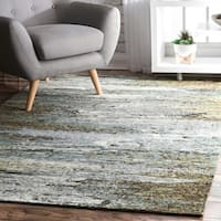nuLOOM Multi Contermporary Mystique Abstract Ombre Rainfall Area Rug (8' x 10') - 8' x 10'