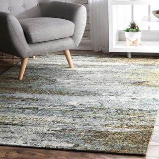 nuLOOM Multi Contemporary Mystique Abstract Ombre Rainfall Area Rug