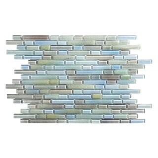 Hi-Fi Offset Linear Glass Mosaic Tile (5 Sheets Per Case)