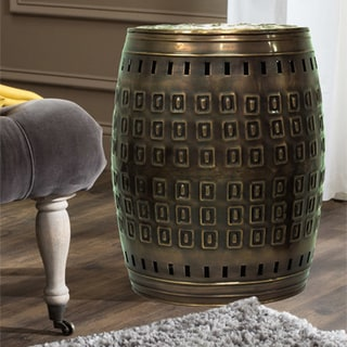 Link to Saffron Fabs Multiple Purpose Hand Crafted Metal Stool/Table Similar Items in Outdoor Decor