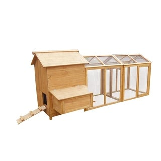 Lovupet 112'' Wooden Chicken Coop