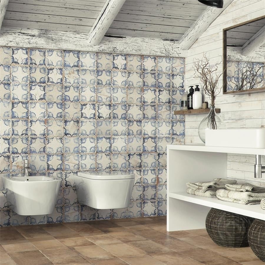 Somertile 13x13-inch Oliver Ceramic Floor and Wall Tile (...