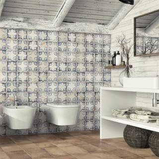 SomerTile 13x13-inch Oliver Ceramic Floor and Wall Tile (10 tiles/12.2 sqft.)