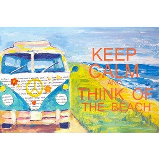 Marmont Hill - 'Zen Attitude' Painting Print on Wrapped Canvas