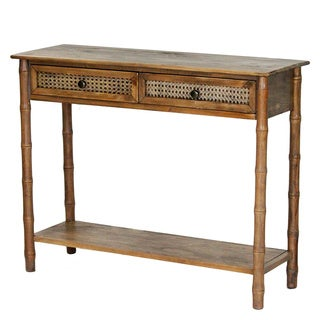 Wallace Collection Bohemian look 2 Drawer Console Table