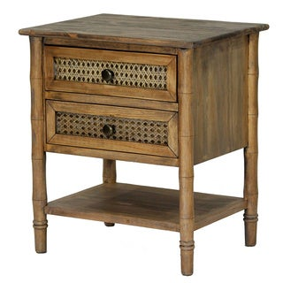 Wallace Collection Bohemian 2 Drawer Accent Table