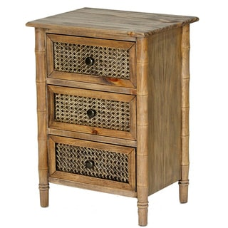Wallace Collection Bohemian 3 Drawer Accent Chest