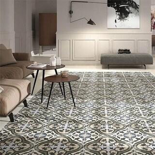 SomerTile 9.75x9.75-inch Concept Carthusian Porcelain Floor and Wall Tile (16 tiles/11.11 sqft.)