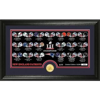 New England Patriots Super Bowl 51 Champions Bronze Coin Pano Photo Mint