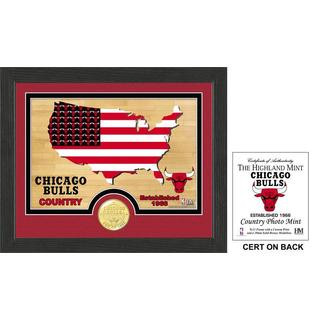 """Chicago Bulls """"Country"""" Photo Mint"""