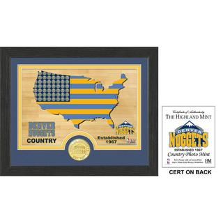 "Denver Nuggets ""Country""  Photo Mint"