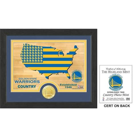 """Golden State Warriors """"Country"""" Photo Mint - Multi-color"""