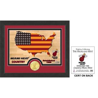 "Miami Heat ""Country"" Photo Mint"