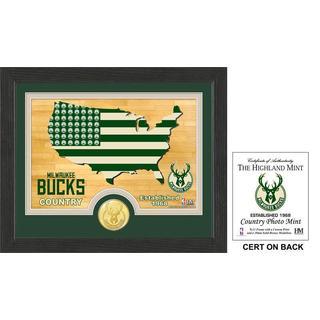 "Milwaukee Bucks ""Country""Photo Mint"