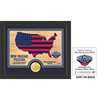 """New Orleans Pelicans """"Country"""" Photo Mint"""