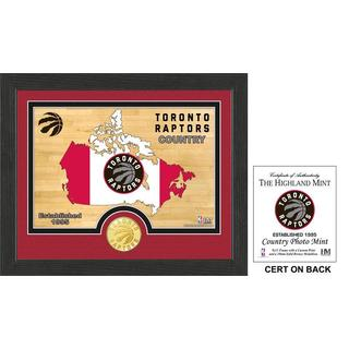 "Toronto Raptors ""Country"" Photo Mint"