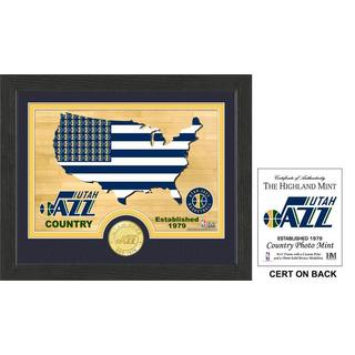 "Utah Jazz ""Country"" Photo Mint"