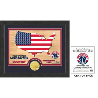 "Washington Wizards ""Country"" Photo Mint"