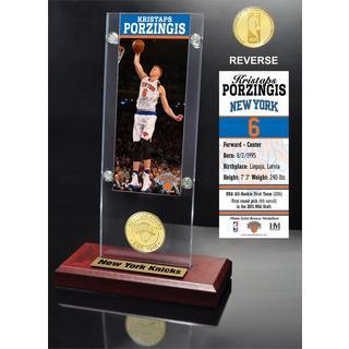 Kristaps Porzingis Ticket Acrylic Desk Top
