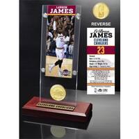 LeBron James Ticket Acrylic Desk Top - Multi-color