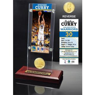 Stephen Curry Ticket Acrylic Desk Top