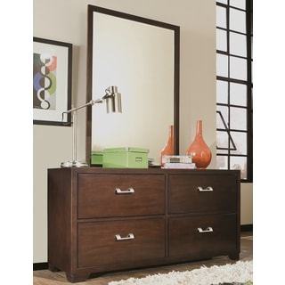 Carter Four Drawer Dresser and Mirror by Greyson Living