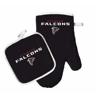 PSG NFL Atlanta Falcons Sports Team Logo Oven Mitt and Pot Holder