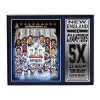 Super Bowl 51 Champion New England Patriots Deluxe Framed Photo Set