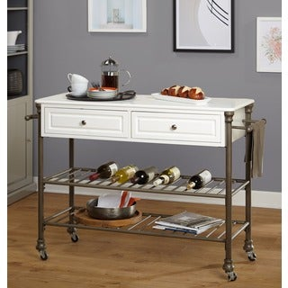 Simple Living Clement Kitchen Cart