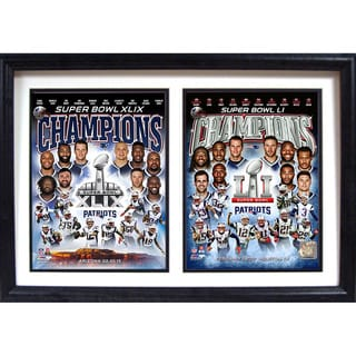 Super Bowl 51 Champion New England Patriots Wall Hanging