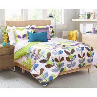 Kimi Printed 3-piece Comforter and Sham Set