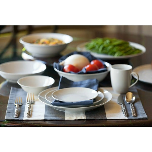 10 Strawberry Street Simply Coupe 52-piece Dinnerware Set (Service for 8)  sc 1 st  Overstock.com & 10 Strawberry Street Simply Coupe 52-piece Dinnerware Set (Service ...