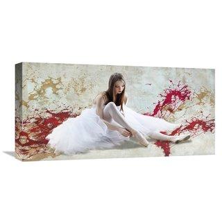 Global Gallery Rizzardi 'Ballet Dancer' Stretched Canvas Artwork