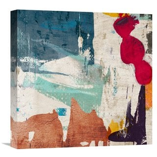 Global Gallery Munson 'Colors Royale I' Stretched Canvas Artwork