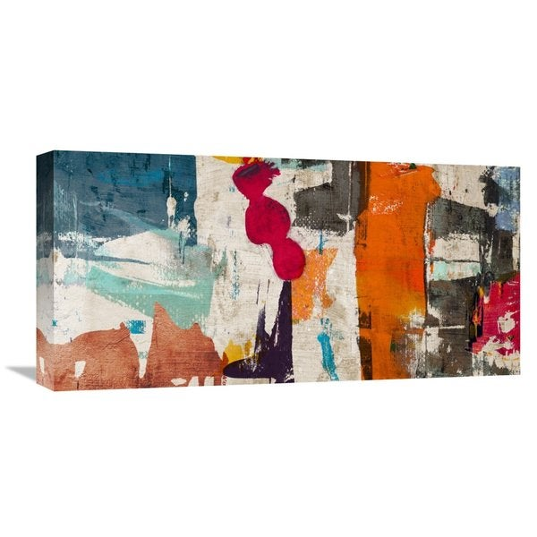 Global Gallery Munson 'Colors Royale' Stretched Canvas Artwork
