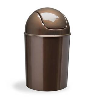 Umbra Bronze 1.5 Gallon Mini Waste Can with Swing Lid