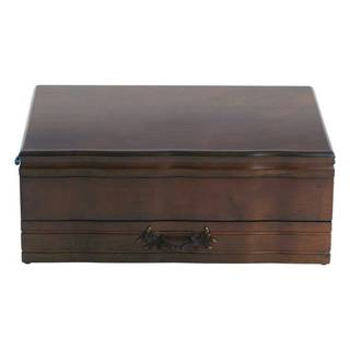 Reed and Barton Provincial Mahogany 1-drawer Flatware Chest
