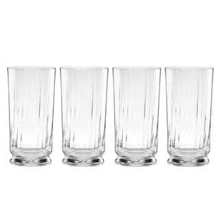 Reed and Barton Austin Crystal Highball Glass (Pack of 4)