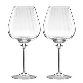Reed and Barton Austin Clear Crystal Red Wine Glass (Set of 2)