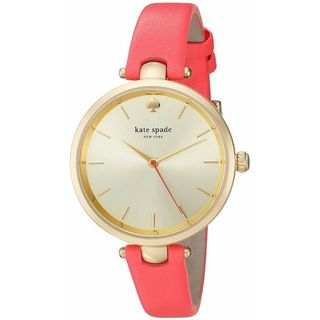 Kate Spade Women's KSW1135 'Holland' Pink Leather Watch