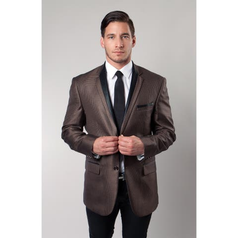Tazio Men's Brown Blazer