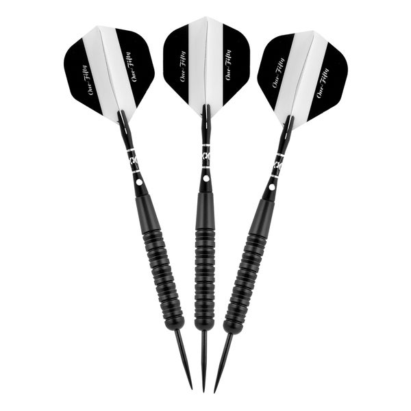 Elkadart Black One-Fifty Aluminum Steel-tip Darts
