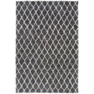 Machine Woven Lynview Polyester Rug (2' x 3')