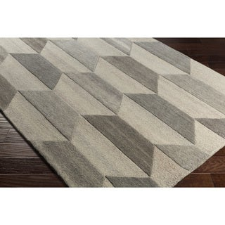 Hand-Tufted Alele Wool Rug (2' x 3')