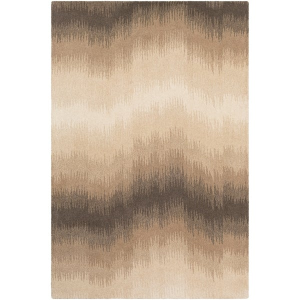 Hand-Tufted Vironis Wool Area Rug - 2' x 3'